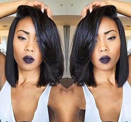 Bob-Black-Hair Short Hairstyles for Black Women 2018