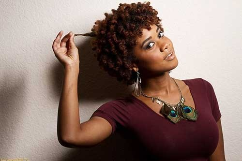 Chic-Short-Black-Natural-Hairstyle-with-Curls Good Natural Black Short Hairstyles