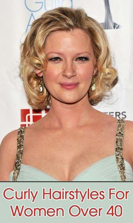 Curly-Blonde-Hair Short Curly Blonde Hair Ideas
