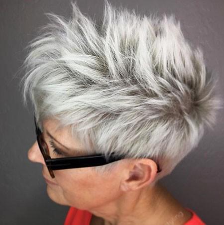 Grey-Hair-1 Best Womens Short Haircuts