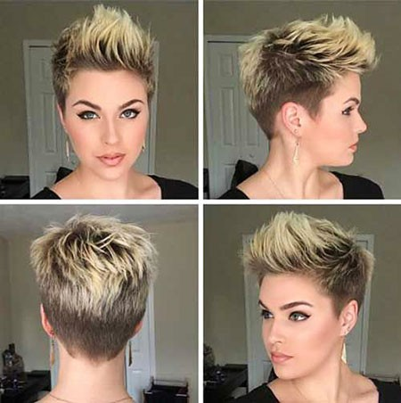 Mohawk-Hairstyle Best Womens Short Haircuts