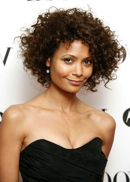 Natural-Curly-Hairtyle-for-Prom Short Curly Haircuts for Black Women
