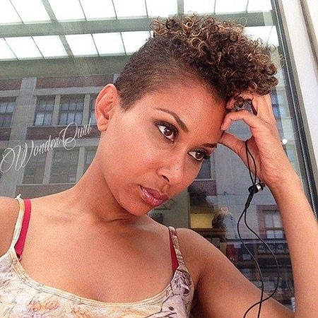 Natural-Short-Style Short Curly Haircuts for Black Women