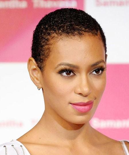 Short-Short-Haircut-for-Black-Women Short Hairstyles for Black Women 2018