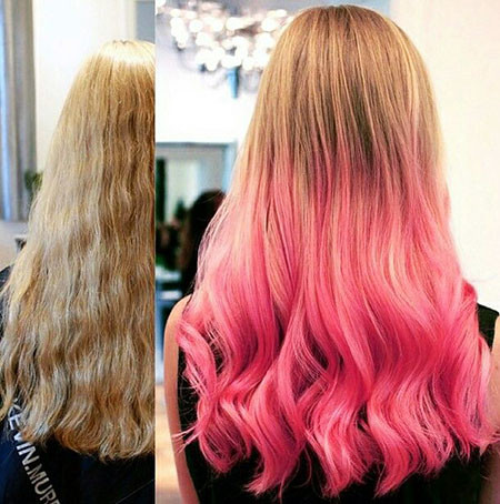 24-Blonde-and-Pink-Ombre-Hair-622 Blonde And Pink Ombre Hair