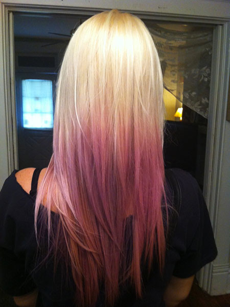 27-Blonde-Hair-Ombre-Purple-625 Blonde And Pink Ombre Hair