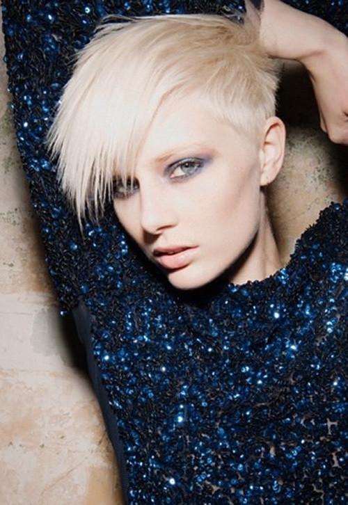 Asymmetrical-Short-Haircuts Celebrity Short Haircuts