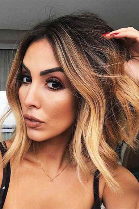 Blogueira-Jade-Seba Amazing Short Ombre Hairstyles