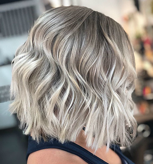 Bright-Blonde Best Short Hairstyles for Women 2019