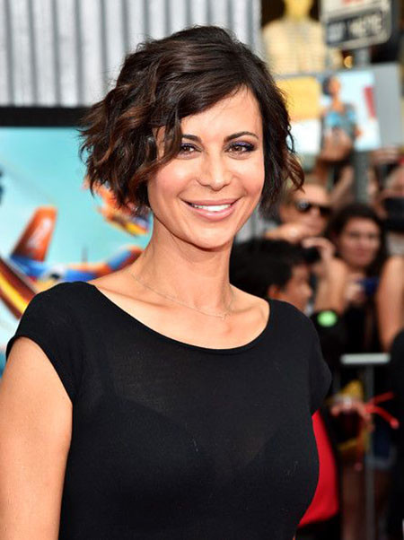 Catherine-Bell-Hairtyles-2018-357 Short Hairstyles for Wavy Hair