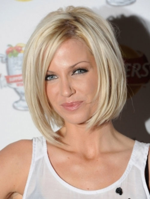 Celebrity-angled-bob-haircut Celebrity hairstyles for short hair