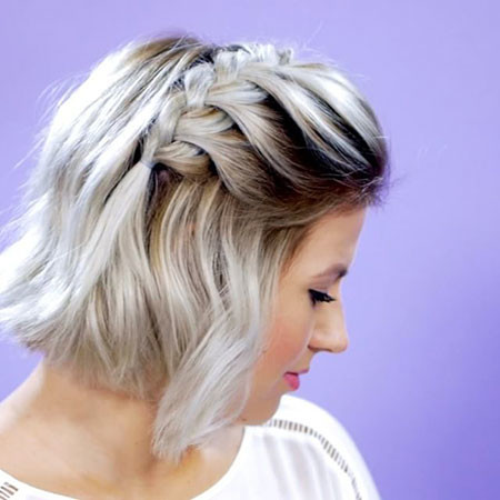 Cute-Braid Cute And Easy Hairstyles for Short Hair