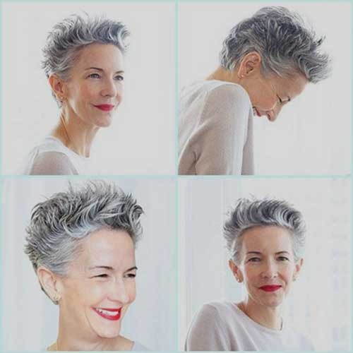 Cute-Short-Pixie-Hairstyle-for-Older-Women Short Pixie Hairstyles for Older Women