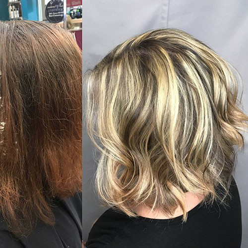 Fall-Hair-Color Best Short Hairstyles for Women 2019