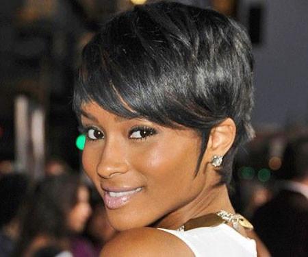 Fine-Relaxed-Hair Short Haircuts for Black Women