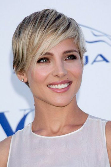 Front-Fringes Trendy Short Haircuts for Women