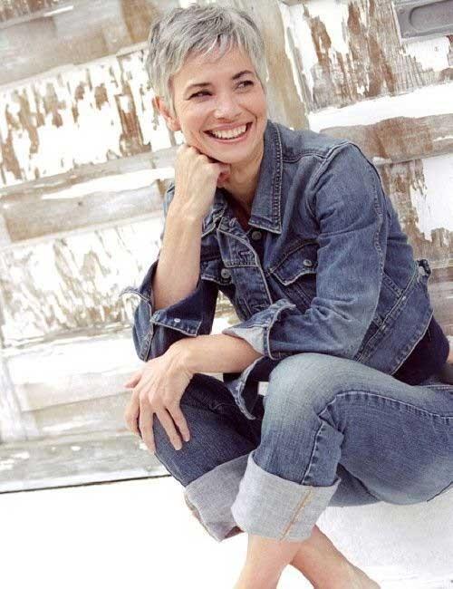Gorgeous-Pixie-Hair-for-Older-Women Short Pixie Hairstyles for Older Women