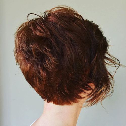 Layered-Haircut Best Short Hairstyles for Women 2019