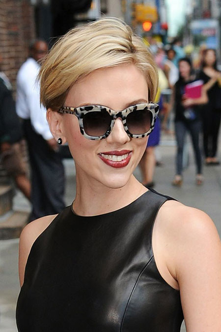 Scarlett-Johansson-Short-Hair-2017 Best Scarlett Johansson Short Hair