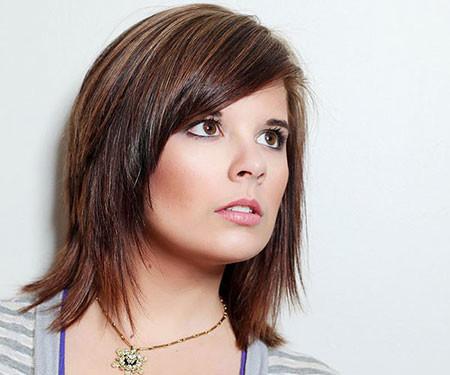 Short-To-Medium-Length-Hair New Short to Medium Hairstyles with Bangs