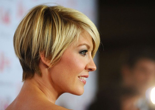 Short-haircut-layers Celebrity Short Haircuts