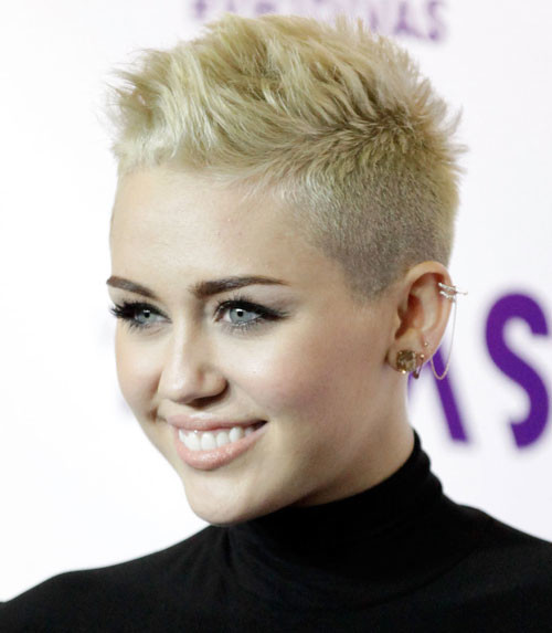 Celebrity hairstyles for short hair