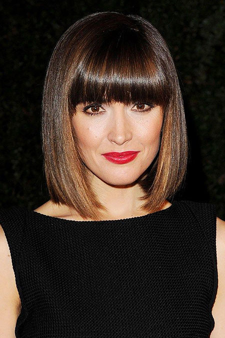 Short-to-Medium-Hairstyles-with-Bangs-3 New Short to Medium Hairstyles with Bangs