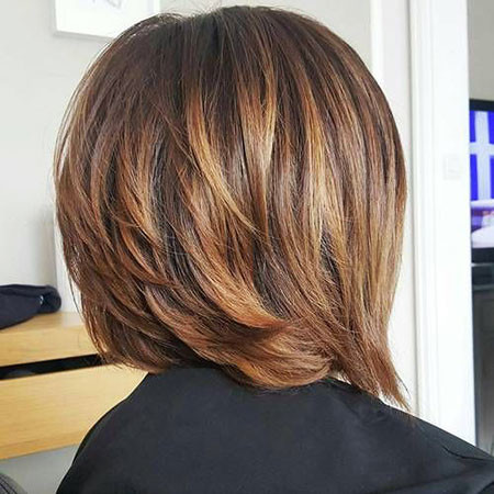 Stylish-Layered-Cut Best Layered Bob Hairstyles