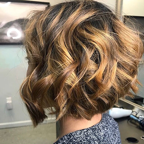 Thick-Curly-Hairstyle Best Short Hairstyles for Women 2019