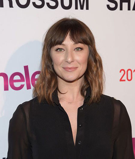 Wavy-Cut-with-Bangs New Short to Medium Hairstyles with Bangs