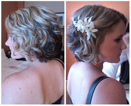 13-Short-Hairtyles-for-Bridesmaid-603 Bridal Hairstyles for Short Haircut