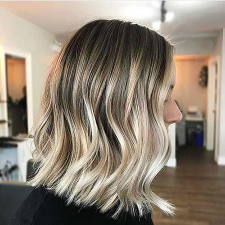 16-Lob-Balayage-491 Short Ombre Hairstyles