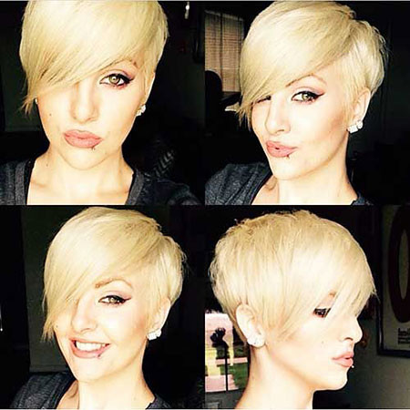 17-Pixie-with-Long-Bangs-630 Short Blonde Hair with Bangs