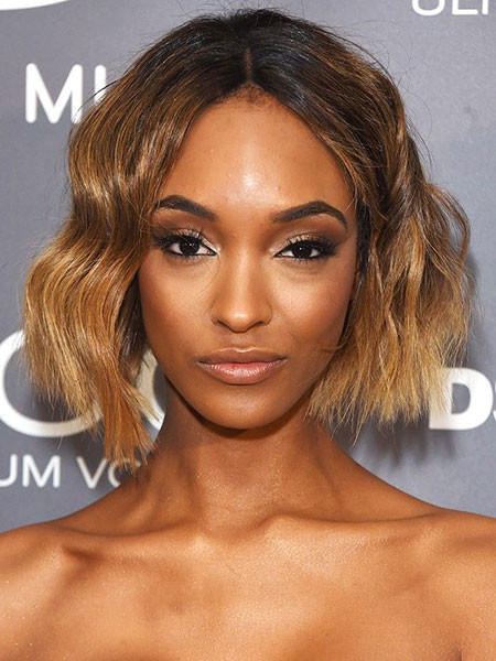 28-Jourdan-Dunn-Short-Hair-503 Short Ombre Hairstyles
