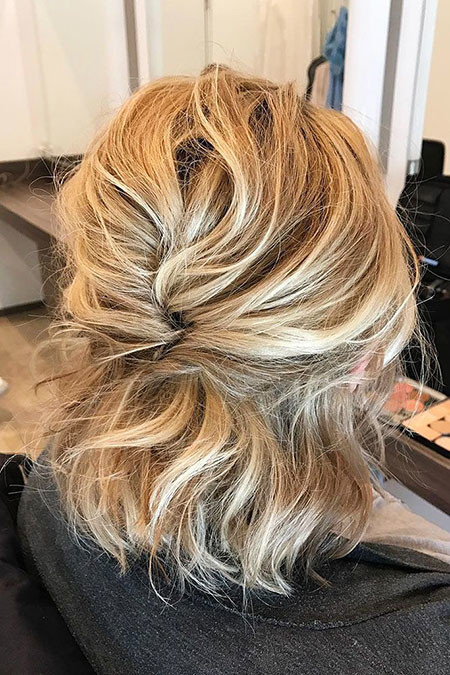 8-Bridal-Hairtyles-for-Short-Hair-598 Bridal Hairstyles for Short Haircut