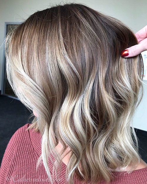 Balayage-Ombre-Highlights Best Short Hairstyles for Girls 2019