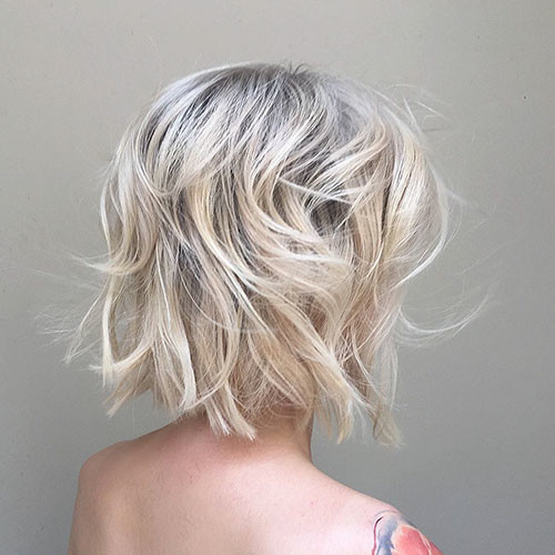 Blonde-Hair Best Short Hairstyles for Girls 2019