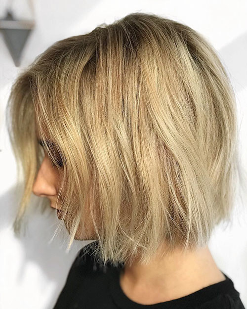 Blonde-Haircut Best Short Hairstyles for Girls 2019