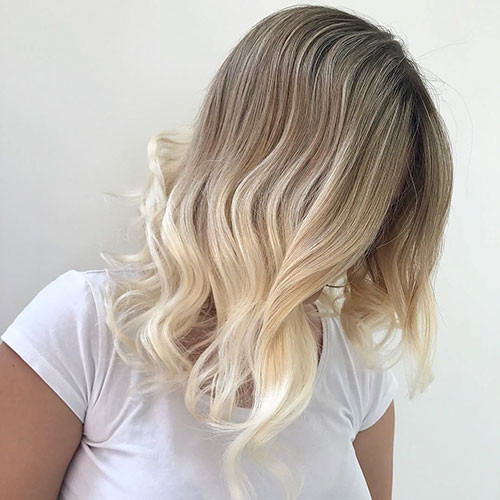 Blonde-Ombre-Hair Best Short Hairstyles for Girls 2019