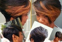 Bouncy-Short-Bob-Hairstyle-with-Brown-Bangs-for-Girls Home