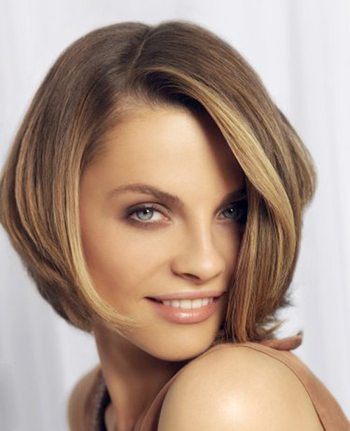 Hairstyle-for-square-face-women Latest Short Hairstyles Trends 2018 – 2019