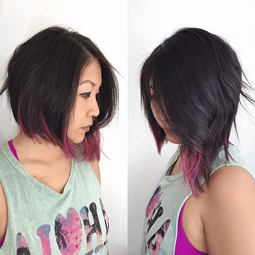 Layered-Bob-Haircut Best Short Hairstyles for Girls 2019