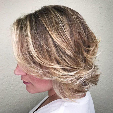 Layered-Bob Best Bob Hairstyles for Women 2019