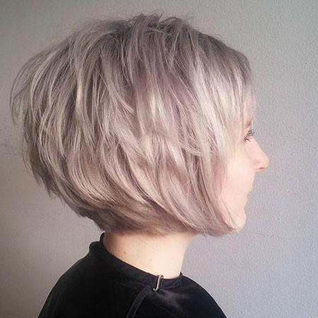 Layered-Edgy-Bob Short Edgy Hairstyles
