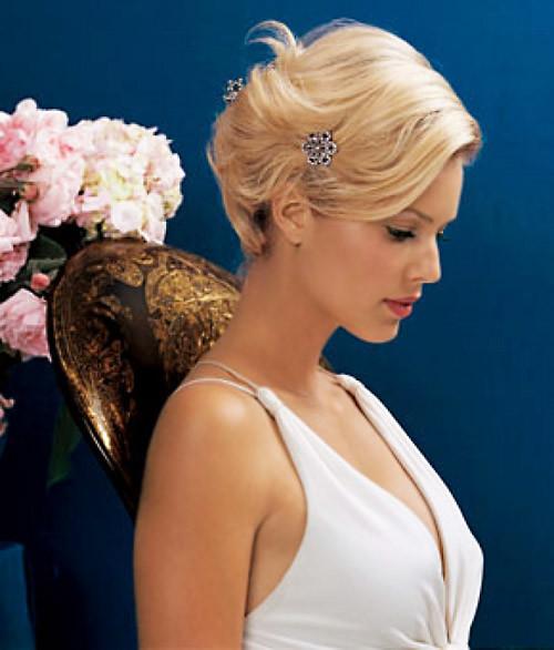 Modern-wedding-hairstyles-short-hair Best Wedding Hairstyles for Short Hair