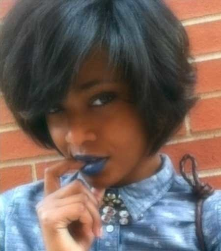 Short-Boyish-Bob-Hairdo-for-Women Short Bob Hairstyles for Black Women