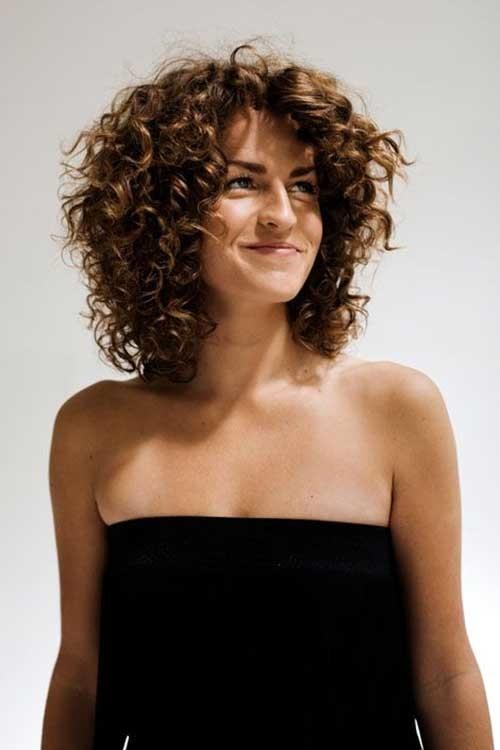 Short-Medium-Length-Curly-Hair Short Medium Length Haircuts