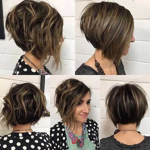 Short-Stacked-Bob-Hairstyle Really Trending Short Stacked Bob Ideas