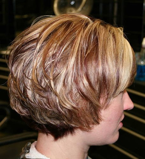 Stacked-Short-Bob-Hairstyle Very Short Bob Haircuts 2019
