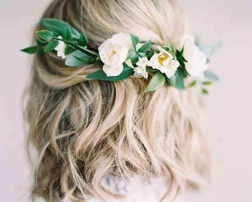 Most Beautiful Short Hairstyles for Weddings